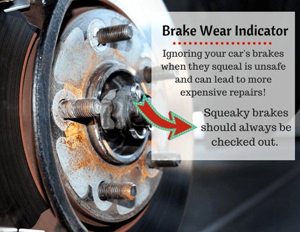 Monterey Collision & Auto Repair | Squeaky Brake Tip