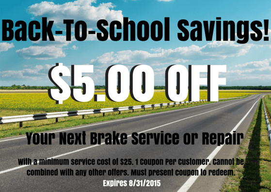 Monterey Collision & Auto Repair | back to school