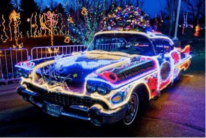Monterey Collision & Auto Repair | christmas car