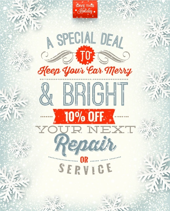 Monterey Collision & Auto Repair | december coupon